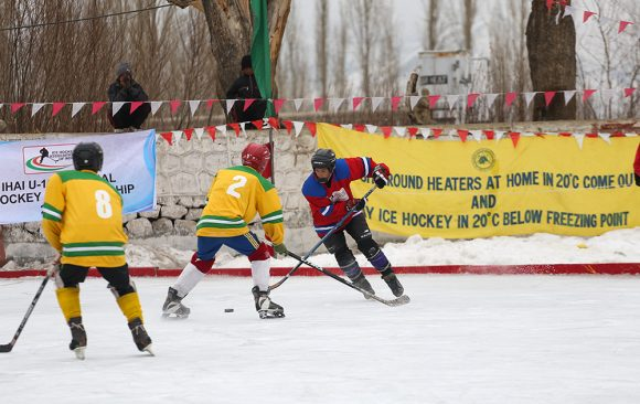 Ice Hockey in Ladakh
