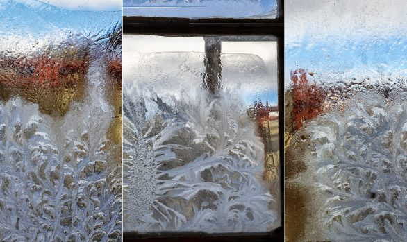 Sunny Mornings - Abstract Triptych
